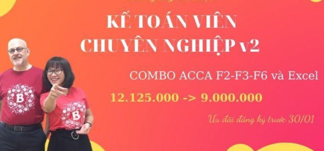 Khoá học: Combo MS33 ACCA F2-3-6-ExcelUDKT