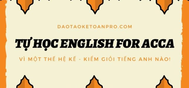 Tự học English for ACCA